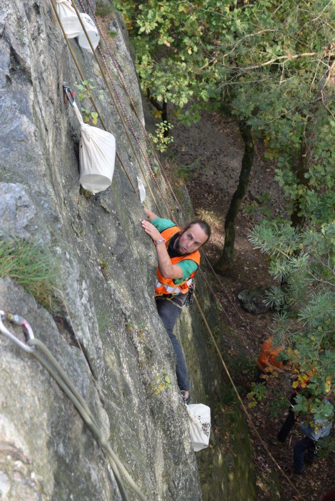 Bild: Klettern mit Ziel